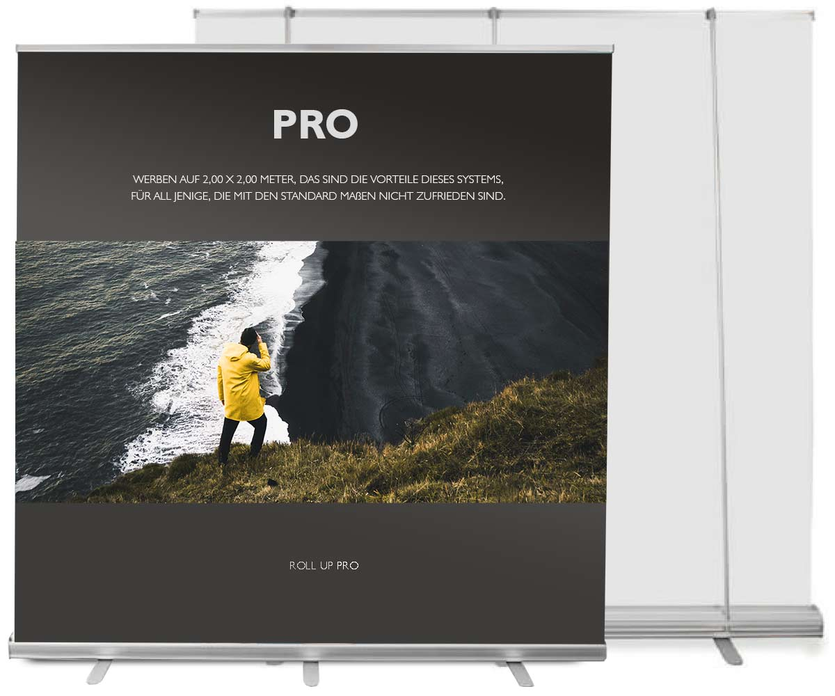 Roll Up Banner Pro