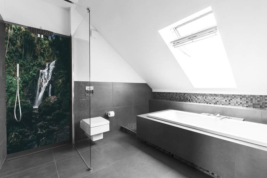 Duschruckwand Bedrucken Bilder Motive Alu Verbundplatten