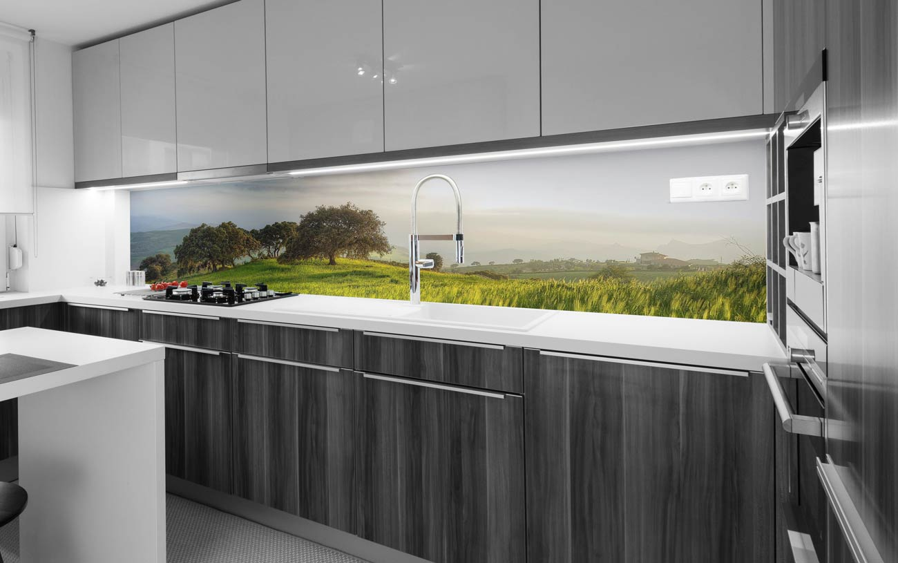 Küchenrückwand Alu Dibond Verbundplatte | digitaldruckshop