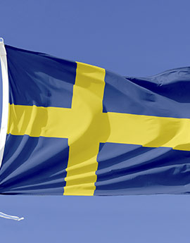 schweden flagge drucken fahne schweden drucken digitaldruckshop. Black Bedroom Furniture Sets. Home Design Ideas